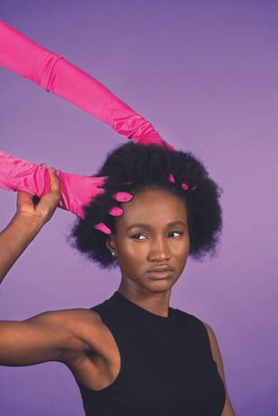 Model: Vanessa Photo: Priscilla Grubo Hair: Julie Mbianke Makeup: Delia Bivona