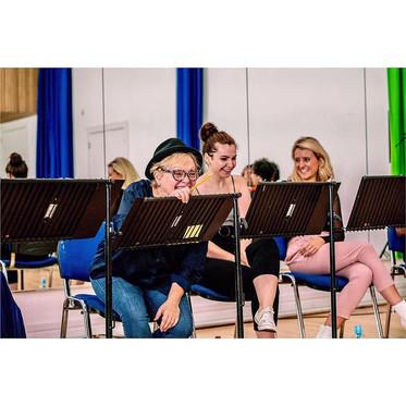 The Trojan Women (rehearsal)