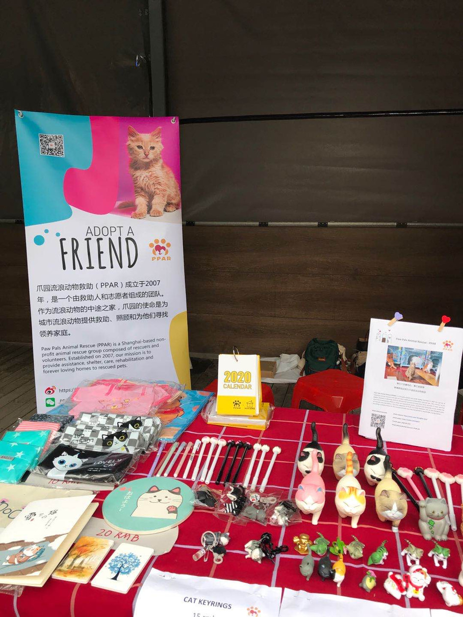 Recap of the PPAR Cat Adoption Day and Charity Sales @Latinland Street Market