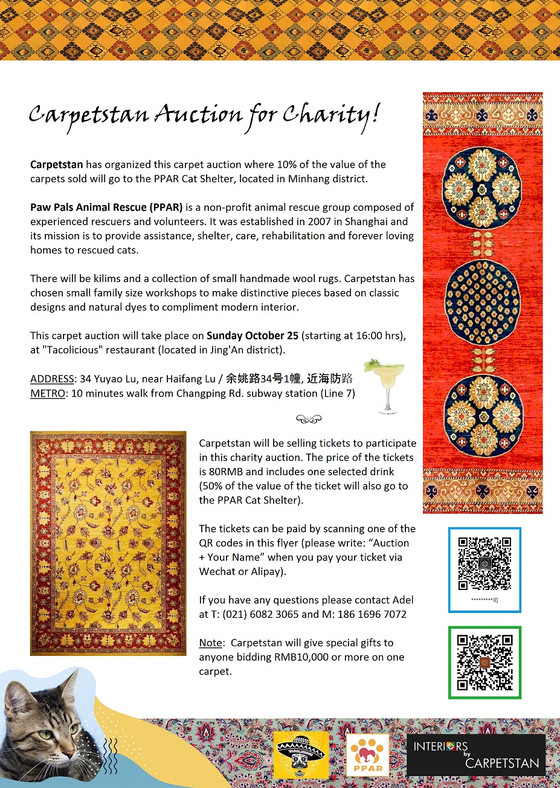 Carpetstan Auction for Charity