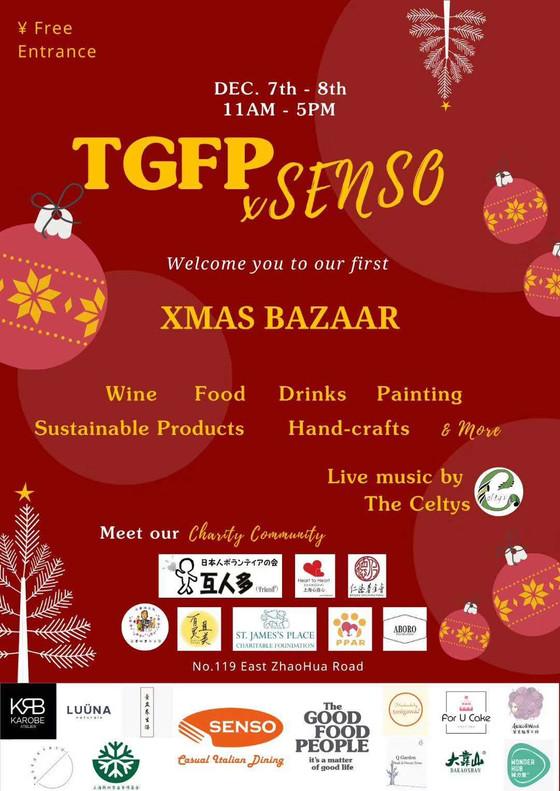 TGFP x Senso X'mas Bazaar