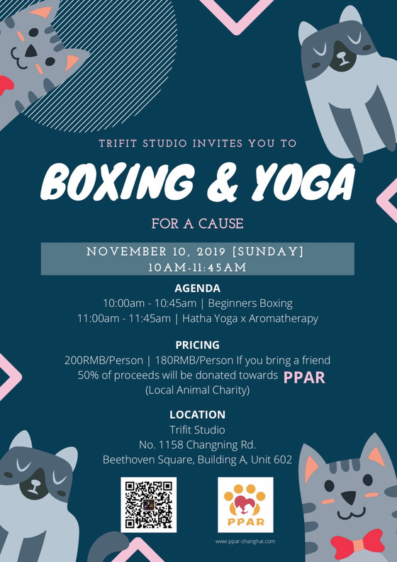 Boxing & Yoga for a Cause