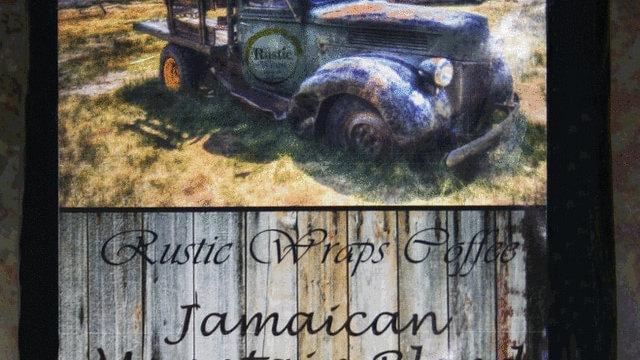 12oz Jamaican Mountain Blend Coffee Black Wrap