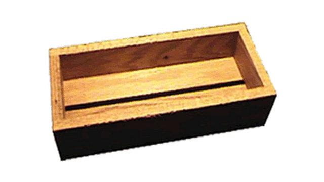 7106 American Hardwood Rustic Tray 9.5x3.5x1.75