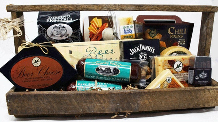 Large Tobacco Lathing Gourmet Food Gift