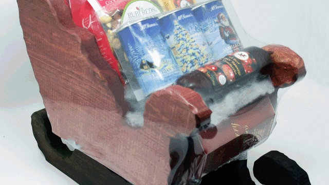 Winter Sleigh Gift
