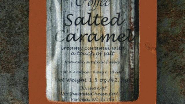 1.5oz Salted Caramel Coffee Copper Wrap