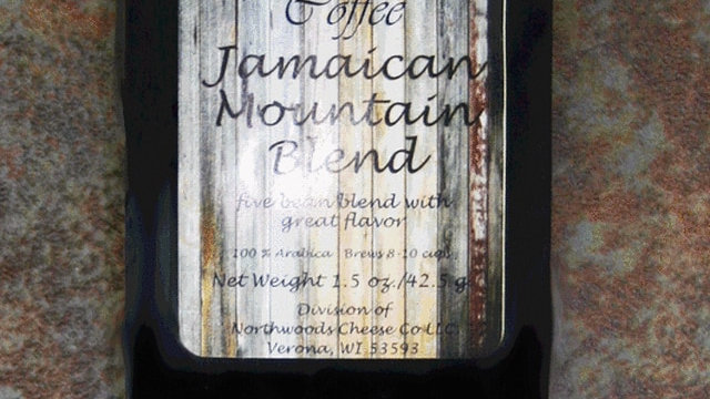 1.5oz Jamaican Mountain Blend Coffee Black Wrap