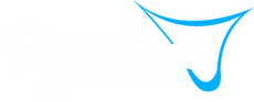 Signature Logo_White w Blue_Transparent