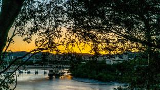 Brisbane City Sunset