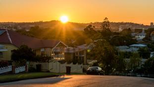 Brisbane Street Sunrise