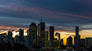 Brisbane Skyline Night
