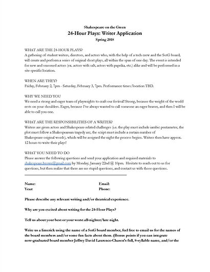 SotG 24-Hour Plays Writer Application_Pa