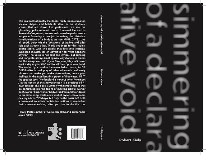 Rob Kiely: Simmering of a declarative void