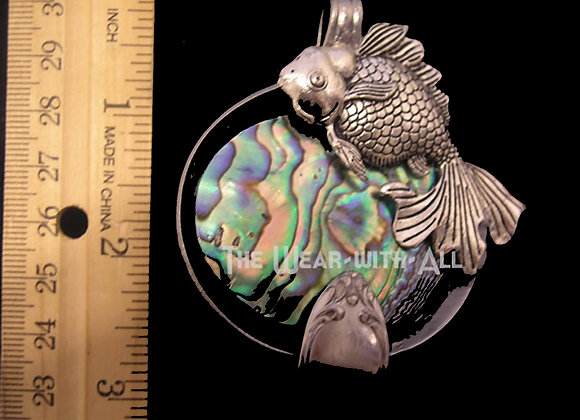 SilverWare-It-All Abalone & Fish Spoon