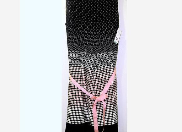 Harve Benard Black & Pink Polka Dot Signature Dress