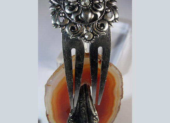 SilverWare-It-All Brazilian Agate Medallion Fork,