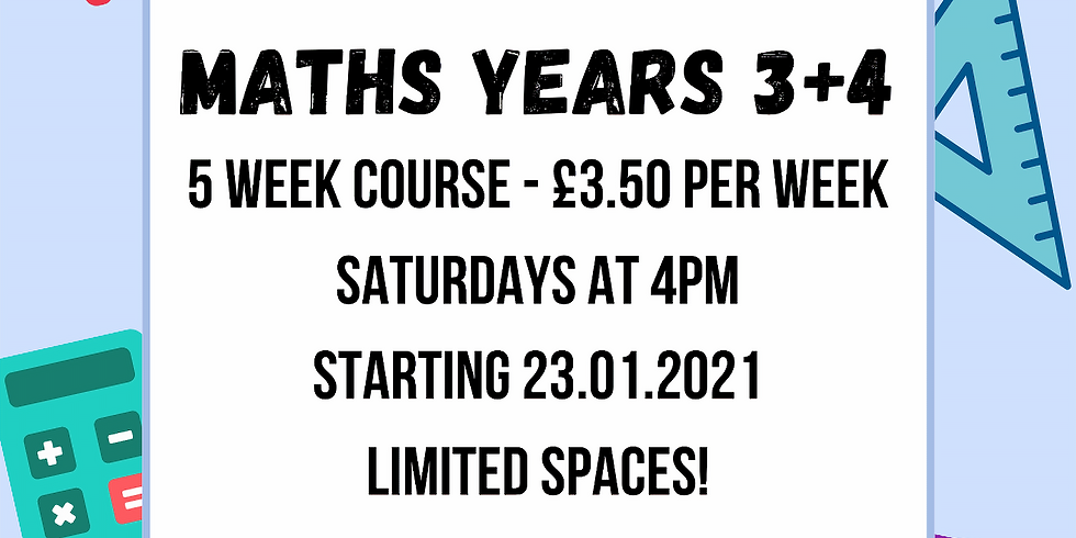 Maths for Years 3 + 4 (Key Stage 2) with Ahmed