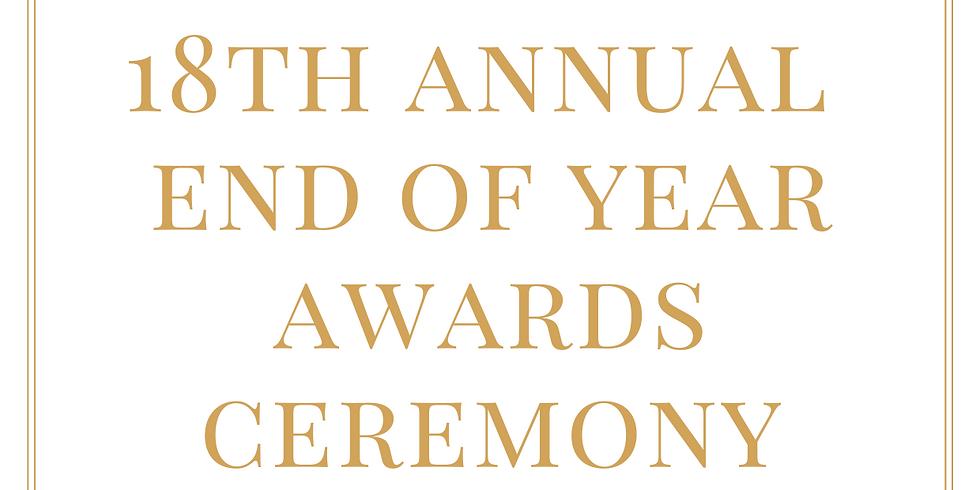 18th Annual Awards Ceremony - GCSE + A Level - 2021