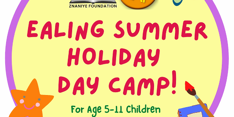 Ealing Borough HAF Summer Day Camp! (Non Free School Meals)