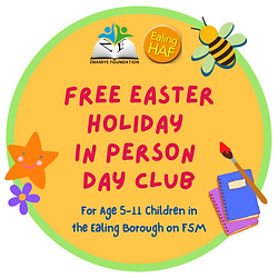Easter Holiday In Person Activities Prog