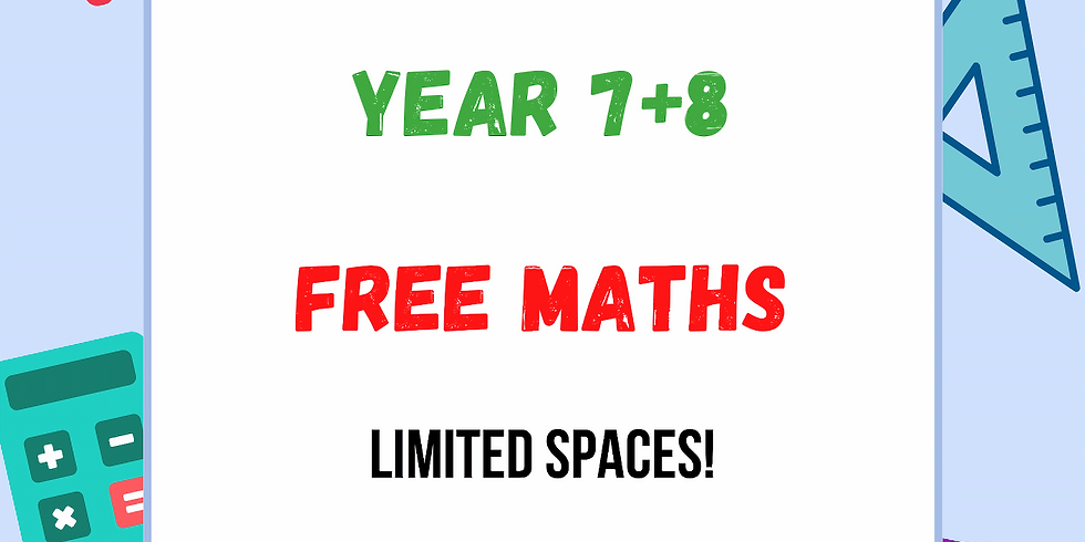 Maths for Years 7+8 (Key Stage 3) with Adriana