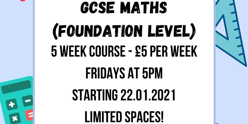 GCSE Maths (Foundation Level) with Adriana