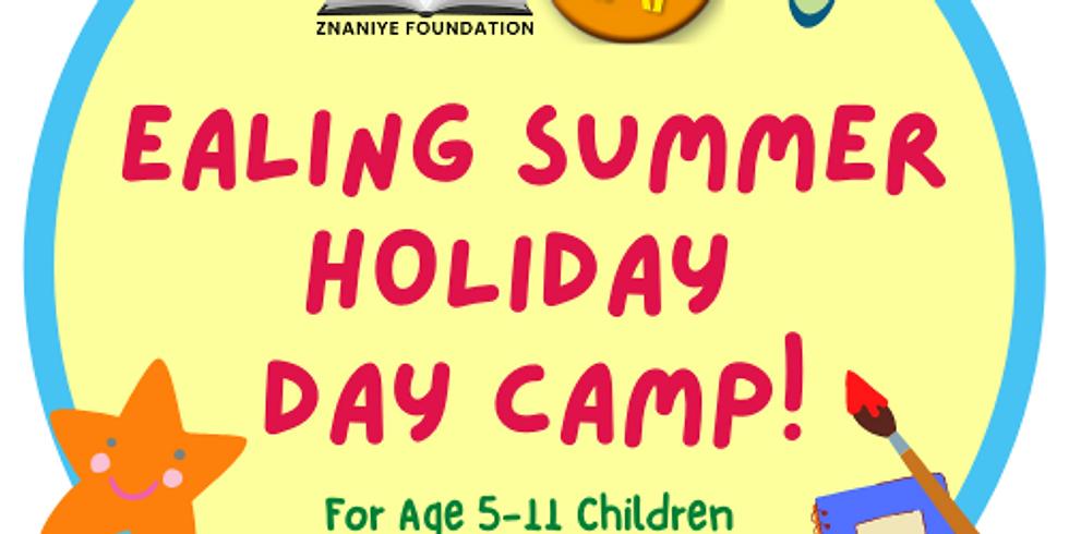 FREE Ealing Borough HAF Summer Day Camp! (Free School Meal Children)