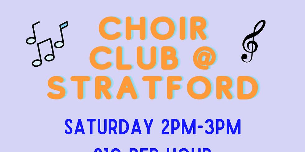 Choir at Stratford