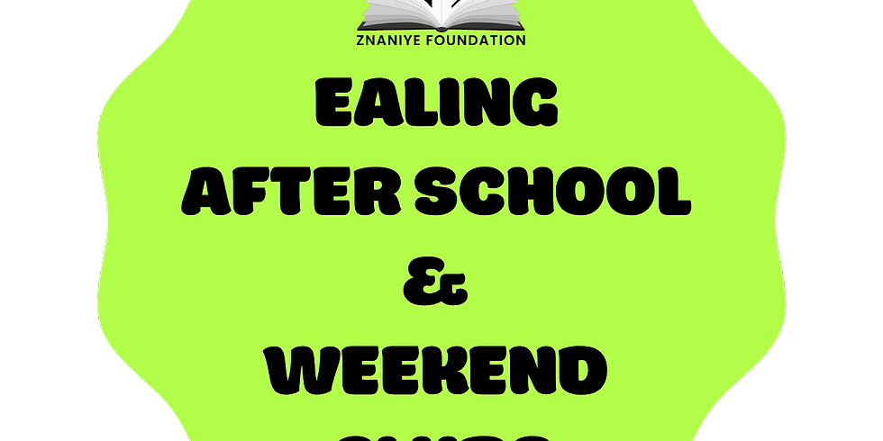 After School + Weekend Clubs - In Person Ealing Classes