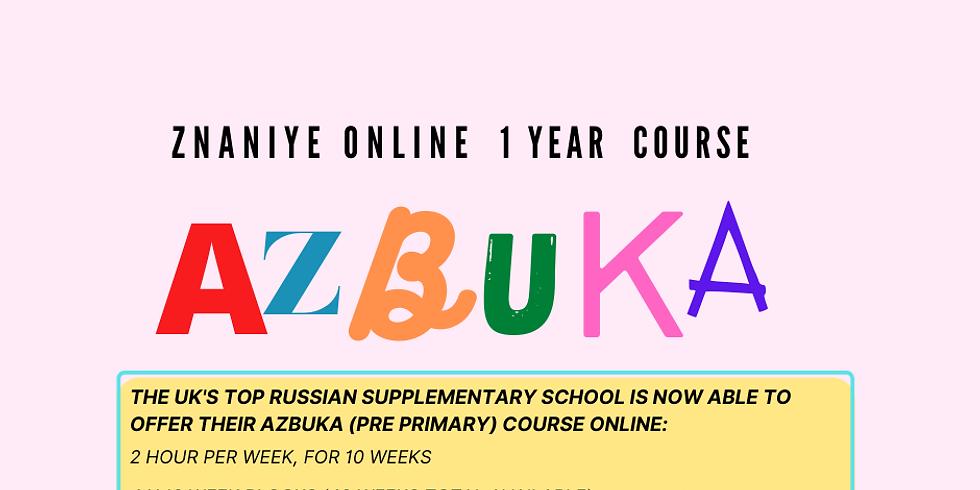 """Azbuka"" Online Course (Age 5-7)"