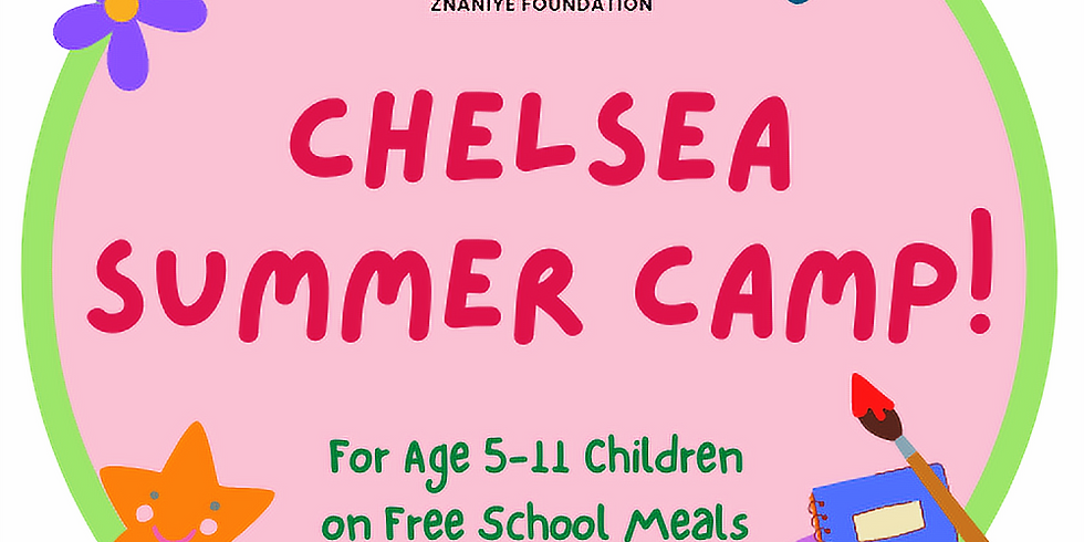 FREE Chelsea (RBKC) HAF Summer Day Camp! (Free School Meal Children)