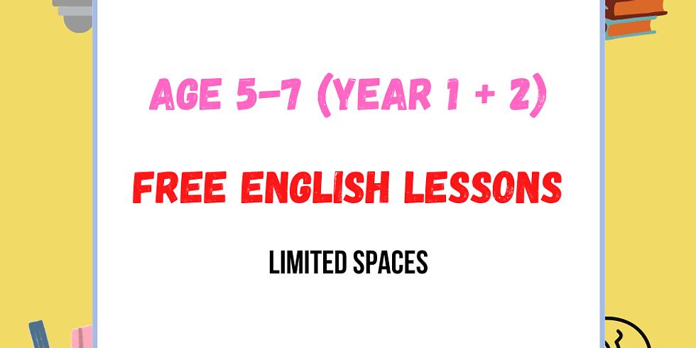 FREE English for Age 5-7 (Keystage 1) with Felix