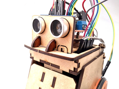 Kit Robot MINI SUMO  (completo para armar)