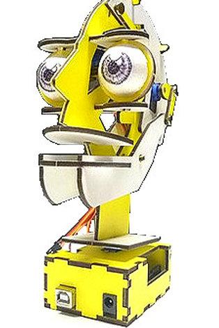 Robot Cara Animatronic Arduino (plantilla para armar)