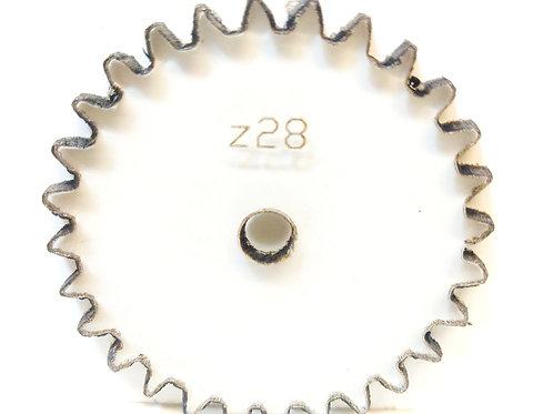 Engrane de policarbonato  28 dientes serie Z