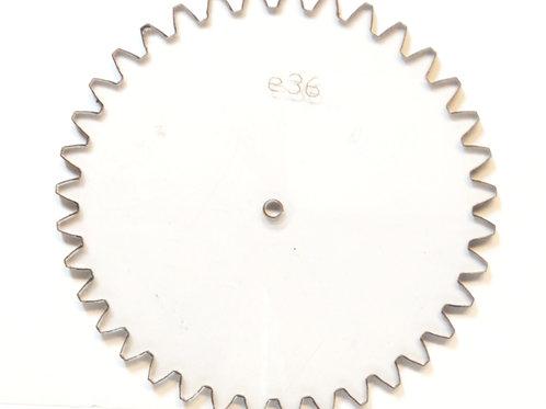 Engrane de policarbonato  36 dientes serie E