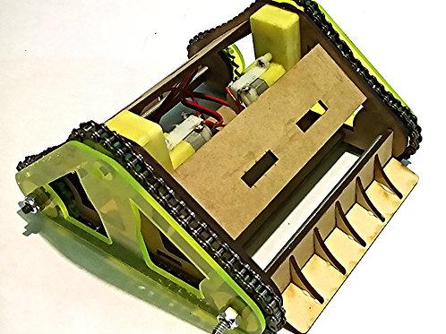 Robot sumo chasis  (tracción por cadena)