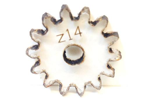 Engrane de policarbonato  14 dientes serie Z
