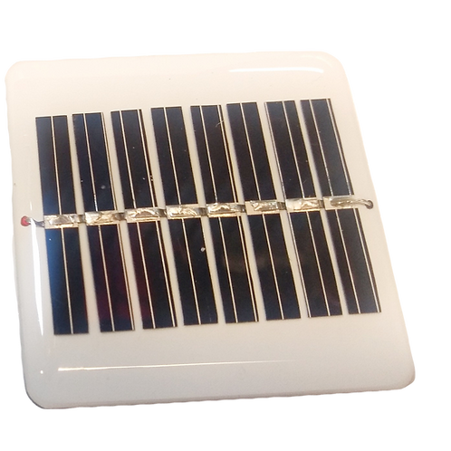 Celda solar 5V,  15mA policristalina