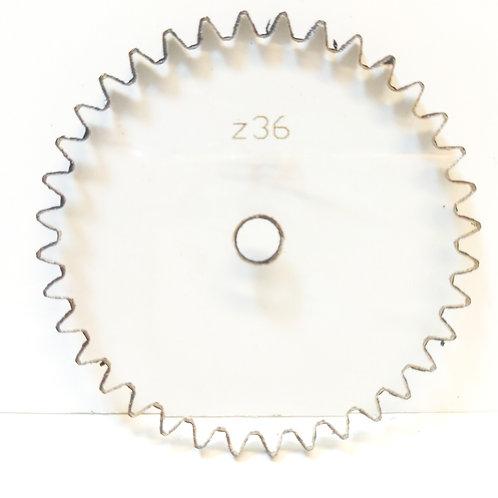Engrane de policarbonato  36 dientes serie Z