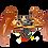 Thumbnail: Chasis Araña robot (plantilla para armar)