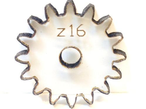 Engrane de policarbonato  16 dientes serie Z