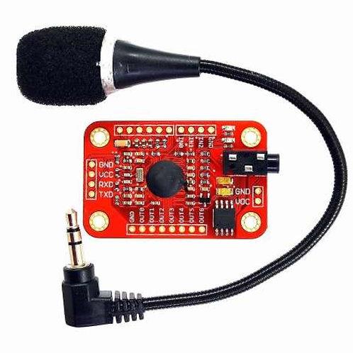 Modulo de reconocimiento de voz para arduino