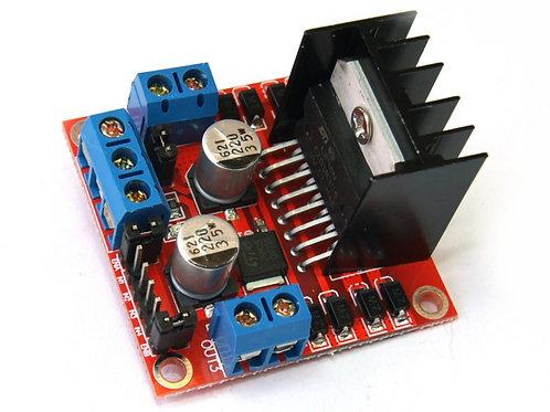 Módulo controlador 2 motores DC  puente H
