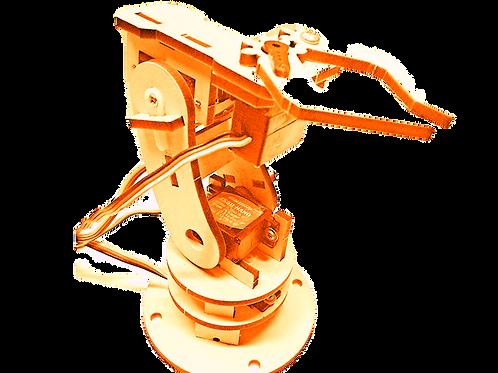 Plantilla para armar Brazo robótico SERVIX