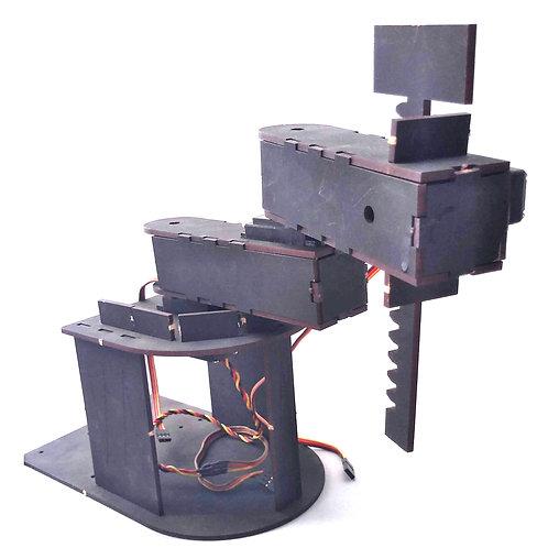 Chasis robot brazo tipo SCARA (plantilla para armar)