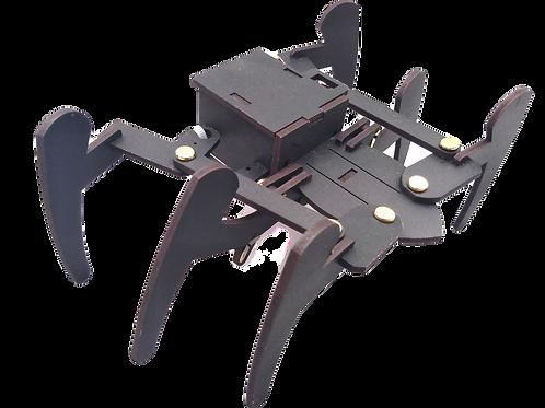 Robot araña Viuda Negra (plantilla para armar)