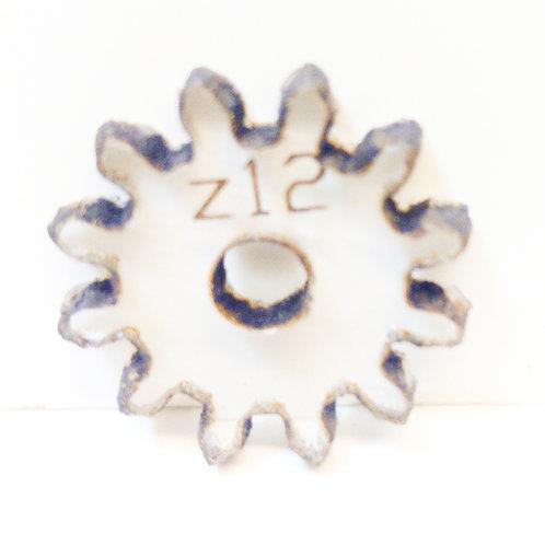 Engrane de policarbonato  12 dientes serie Z