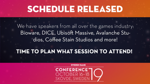 Plan your week at Sweden Game Conference 2019 in Skövde